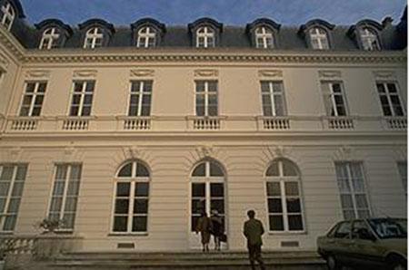 L'hôtel de Cassini : la façade sur cour