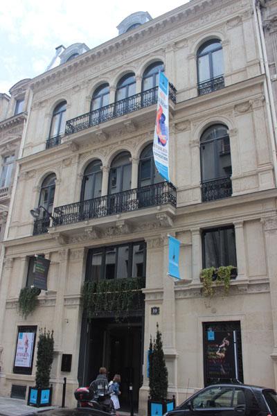 L'hôtel Soltykoff - La façade sur la rue Volney