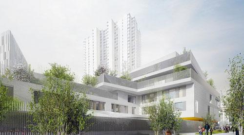 Chapelle International : le lot D de TOA Architectes