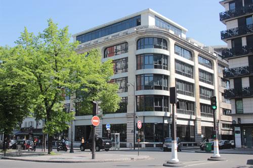 Le siège du groupe André : le bâtiment