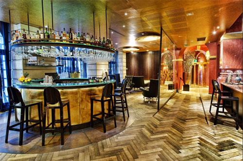 Le Banke hôtel : le bar
