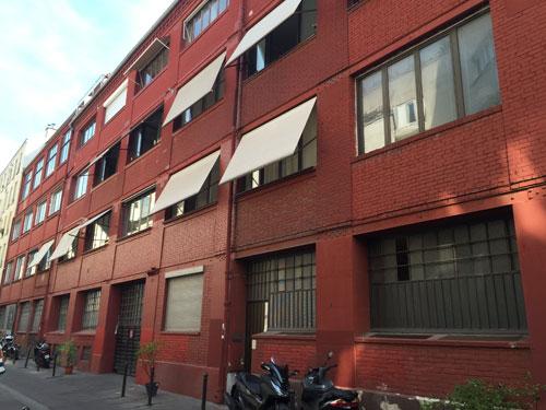 La cité Griset : l'ancienne usine Griset