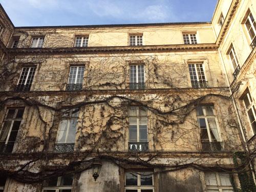 L'hôtel de Chatillon - Le corps de logis a été surélevé