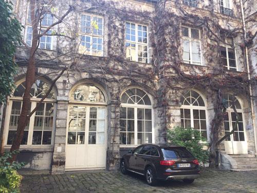 L'hôtel de Chatillon - L'aile gauche