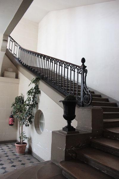 L'hôtel de Novilos - L'escalier