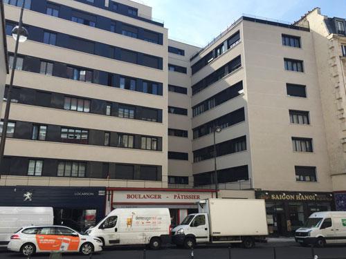 Immeuble mixte Rue de Charonne