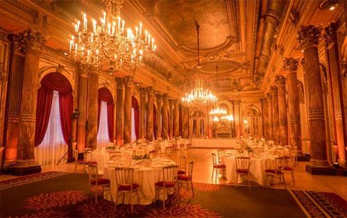 Le Westin Paris Vendôme : le salon impérial lors d'une réception