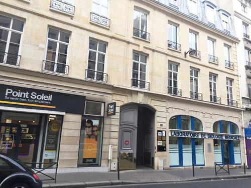 maison Trouard, 11 rue du faubourg Poissonnière