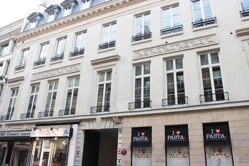 maison Trouard, 9 rue du faubourg Poissonnière