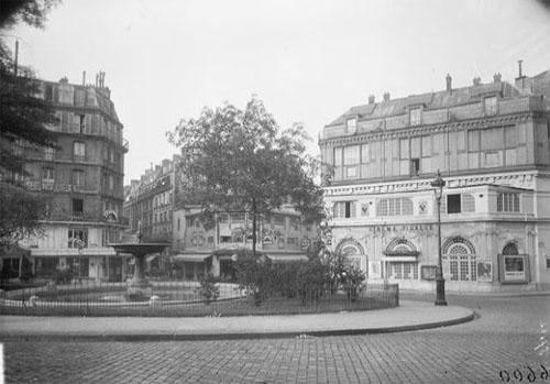 La place Pigalle et le cinéma Pigalle