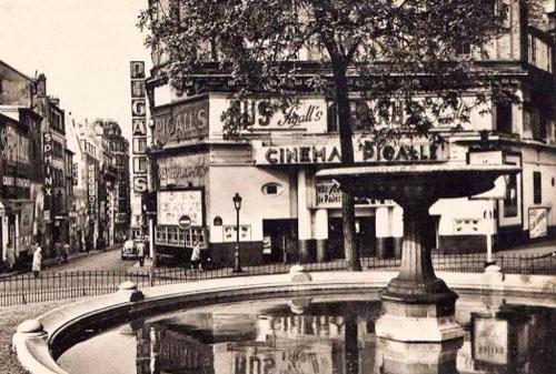 Le cinéma Pigalle au début des années 1950