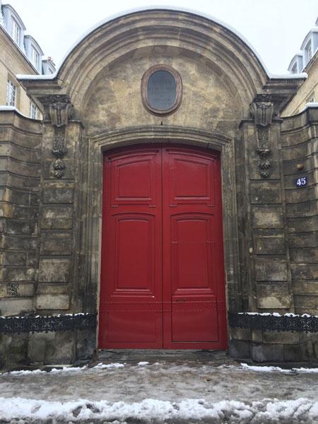 Le couvent de la Merci : le portail