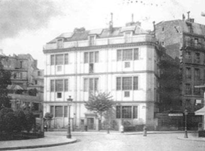 La Folie Pigalle : un ensemble d'ateliers d'artistes bâti en 1846
