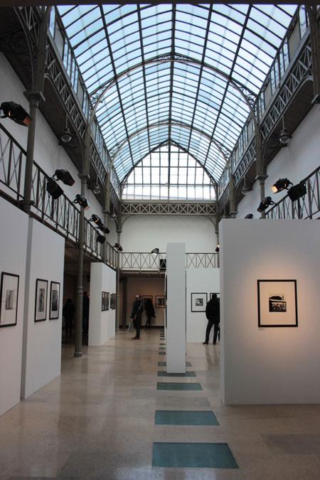 La fondation Azzedine Alaïa : l'espace d'exposition coiffé d'une verrière