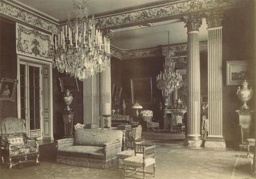 L'ancien hôtel d'Emile Pereire : le grand salon