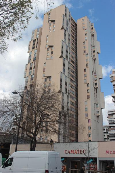 Tours de logements Avenue de Flandre