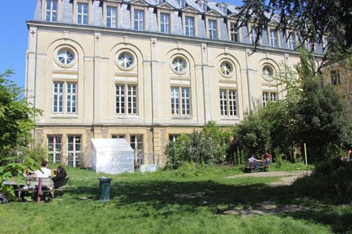 L'annexe de la faculté Panthéon-Assas : l'ancienne chapelle du collège de l'Immaculée-Conception