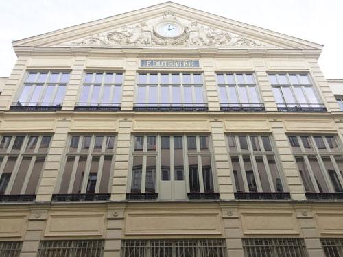 La cité d'Angoulême : l'ancienne manufacture Dutertre