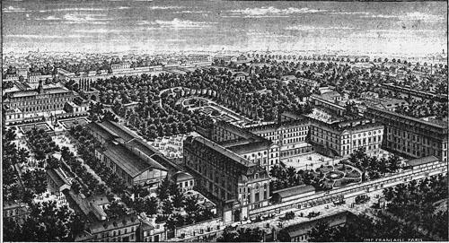 Le collège de l'Immaculée-Conception bâti au XIXe siècle