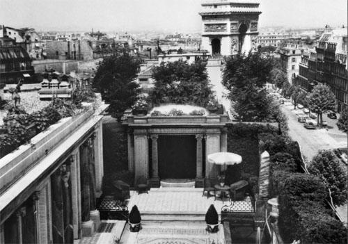 La résidence de Calouste Gulbenkian : le jardin suspendu