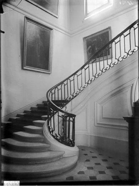 L'hôtel d'Orrouer : le grand escalier