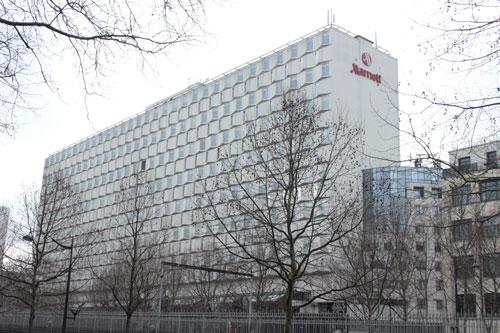 L'hôtel Mariott