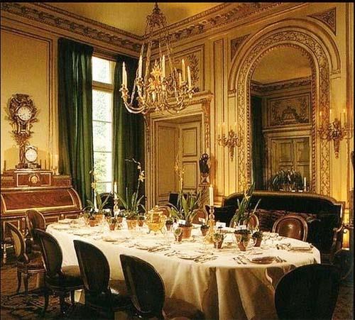 L'hôtel d'Orrouer - La salle à manger