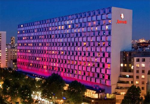 L'hôtel Paris Mariott Rive Gauche