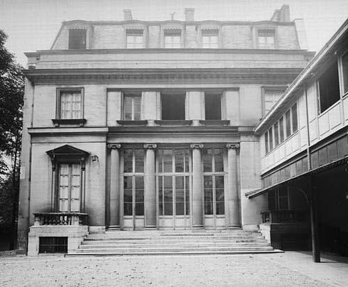 La maison Dorlian - Photographie ancienne, avant supression de l'aile moderne