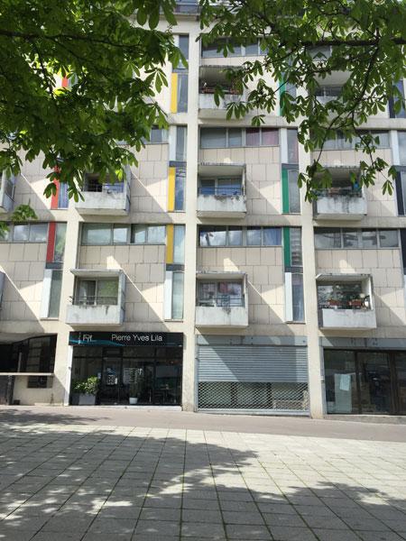 Immeuble de logements rue du Chevaleret