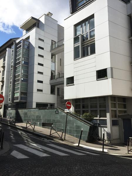 Immeuble de logements rue des Partants