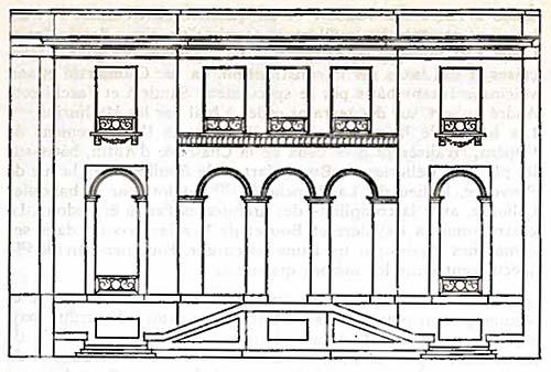 La maison Dorlians - Elévation