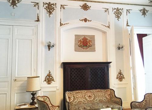 L'hôtel des Monstiers-Mérinville : le salon bleu