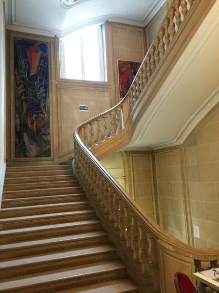 L'hôtel des Monstiers-Mérinville : l'escalier d'honneur