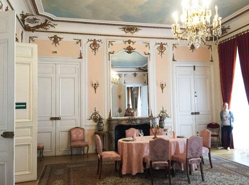 L'hôtel des Monstiers-Mérinville : le salon rose