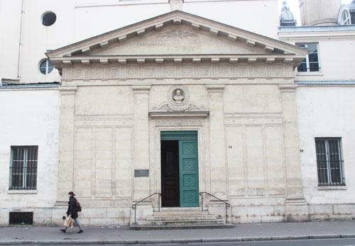 La chapelle Saint-Vincent de Paul