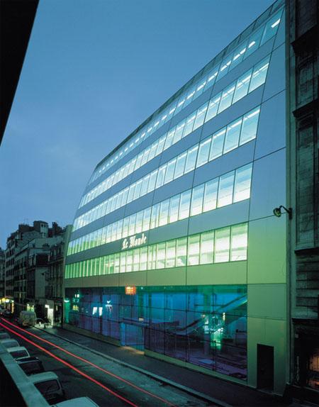 L'ex-siège du journal Le Monde