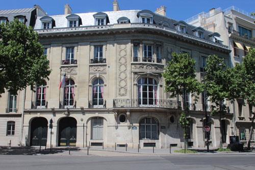 L'hôtel de La Tour d'Auvergne