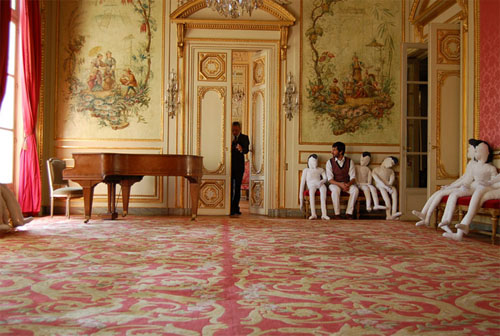 L'hôtel de La Tour d'Auvergne : le grand salon