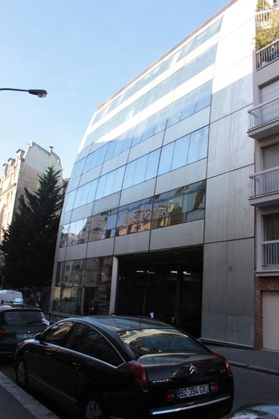 Immeuble de l'ex-siège du journal Le Monde