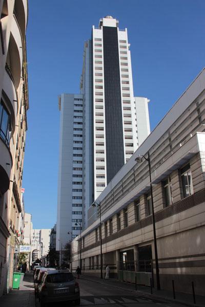 La tour Super-Montparnasse