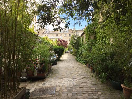 Cour artisanale Rue Basfroi