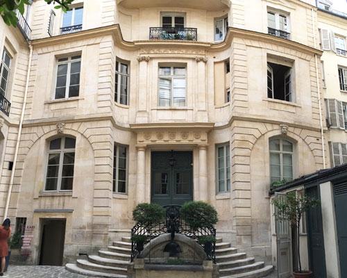 L'hôtel de Launay : la façade sur cour