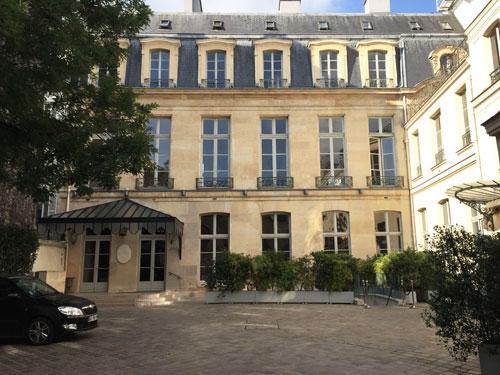 L'hôtel de Poulpry - Façade sur la cour