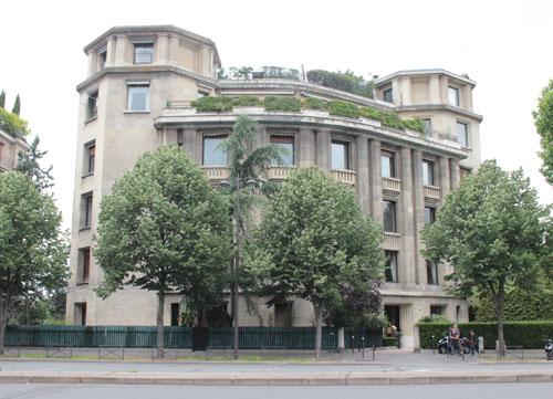 Immeuble de logements, boulevard Suchet