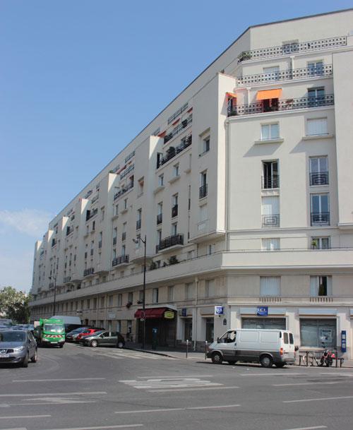 Immeuble de logements Rue Catulle-Mendès
