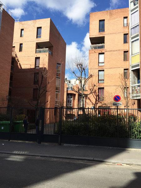 Logements rue des Amandiers