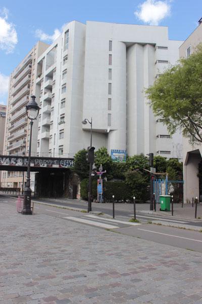 Ensemble de logements : l'immeuble sur le quai de Loire