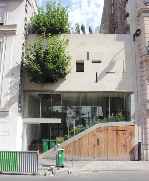 La maison Galvani : façade sur la rue