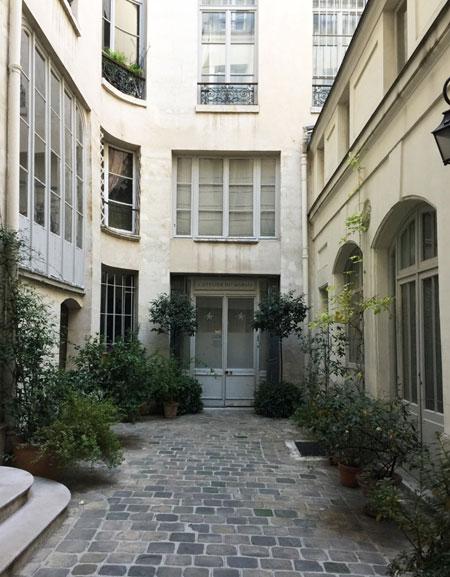 La maison Le Tellier : la cour intérieure